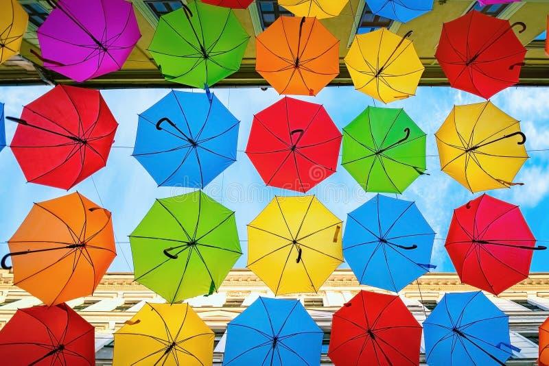 Paraplygata i Timisoara arkivfoto