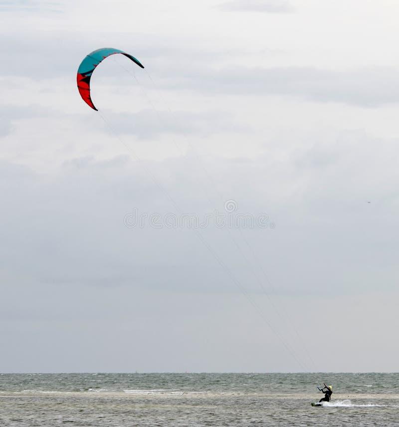 Parasail sur le Golfe du Mexique photo stock