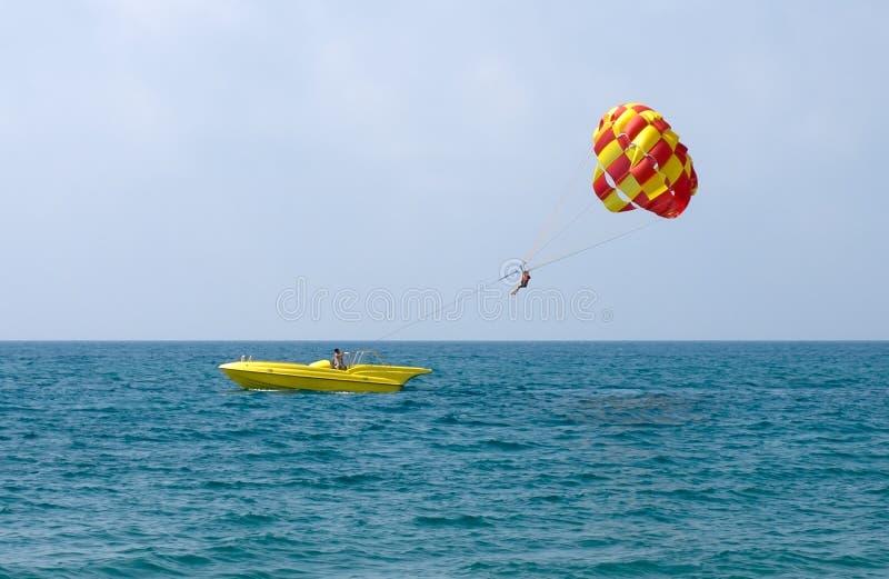 Download Parasailing stock photo. Image of resort, ocean, horizontal - 17444516