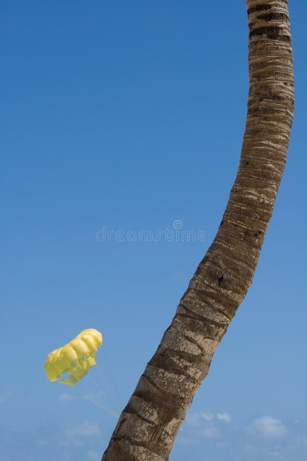 parasailing zdjęcie stock