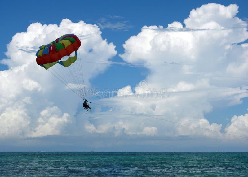 Parasailing Parachute Water Sport Stock Photo - Download