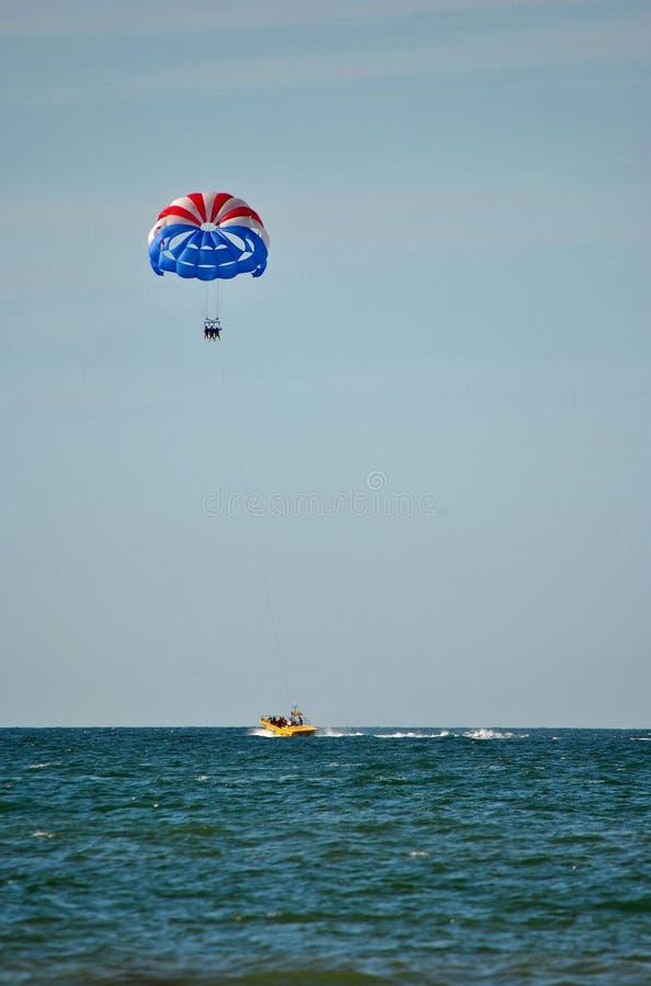Parasailing in Florida fotografia stock