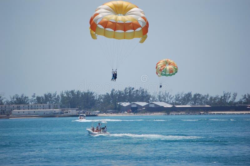 Parasailing, Key West photos stock
