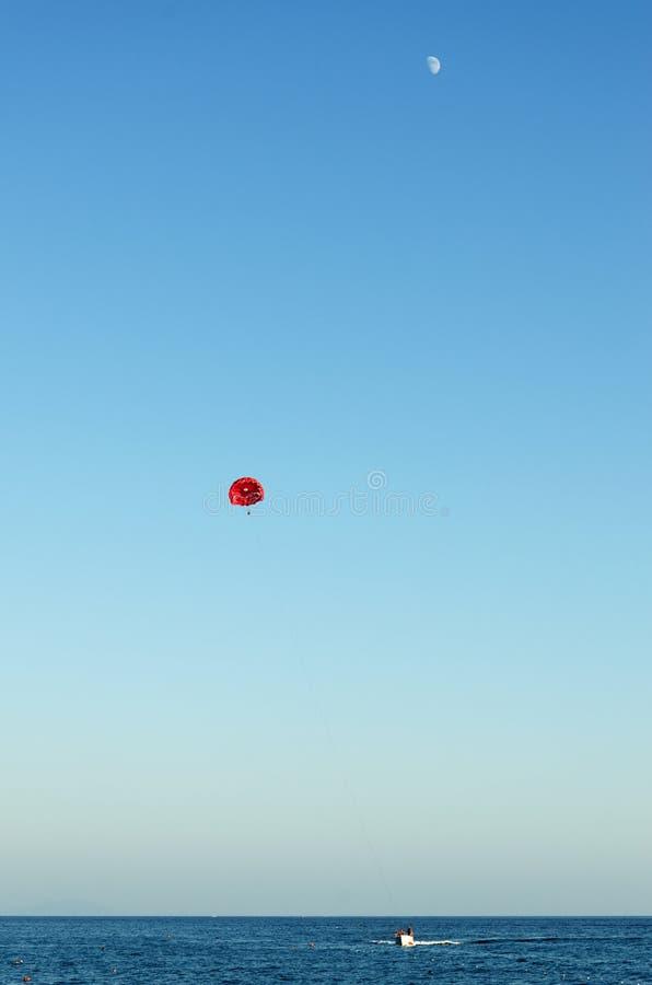 Military Parachute Jump Celebration Stock Image - Image of