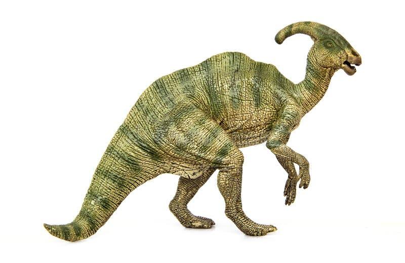 Parasaurolophus恐龙草食动物 图库摄影