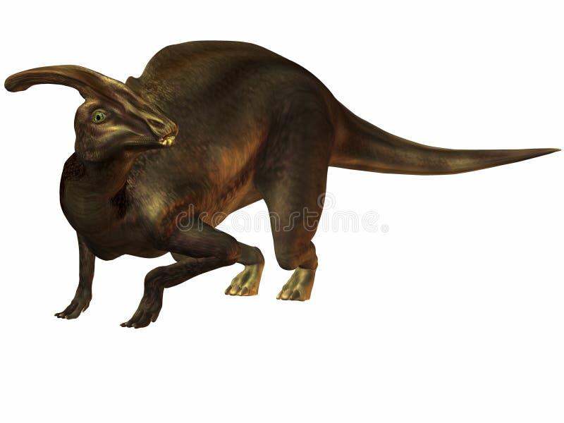 parasaurolophus royalty ilustracja