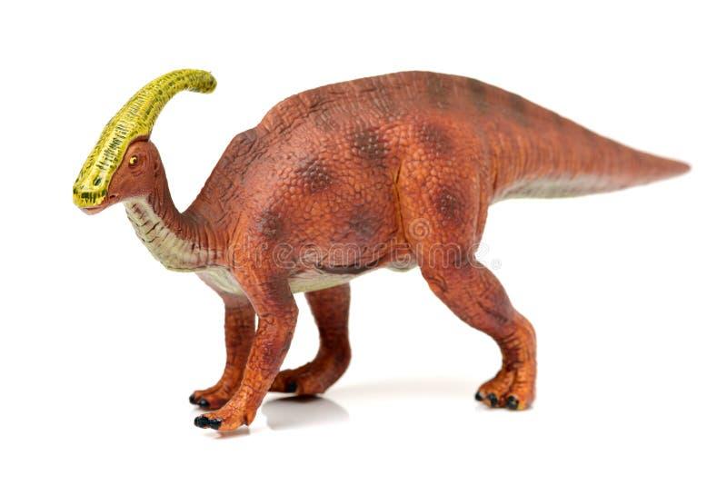 Parasaurolophusdinosaurus royalty-vrije stock foto's