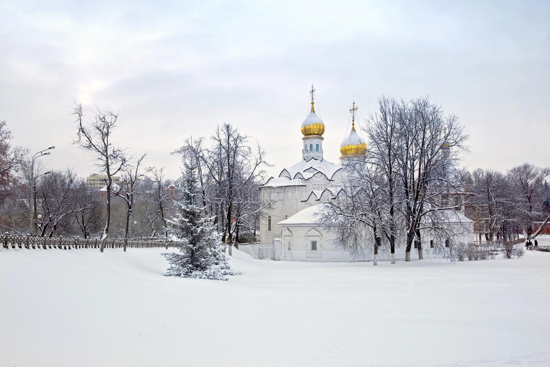 Paraskeva Church at the hem foto de stock royalty free