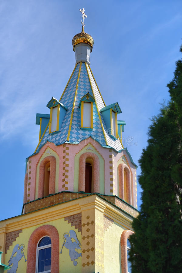 Paraskeva kościół Rosyjska eklektyzm architektura obraz royalty free