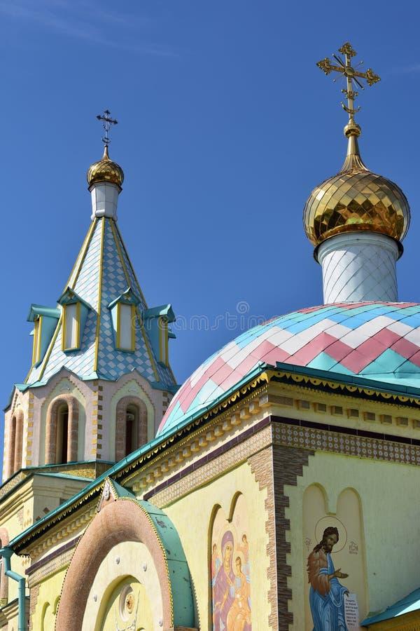 Paraskeva kościół Rosyjska eklektyzm architektura zdjęcie royalty free