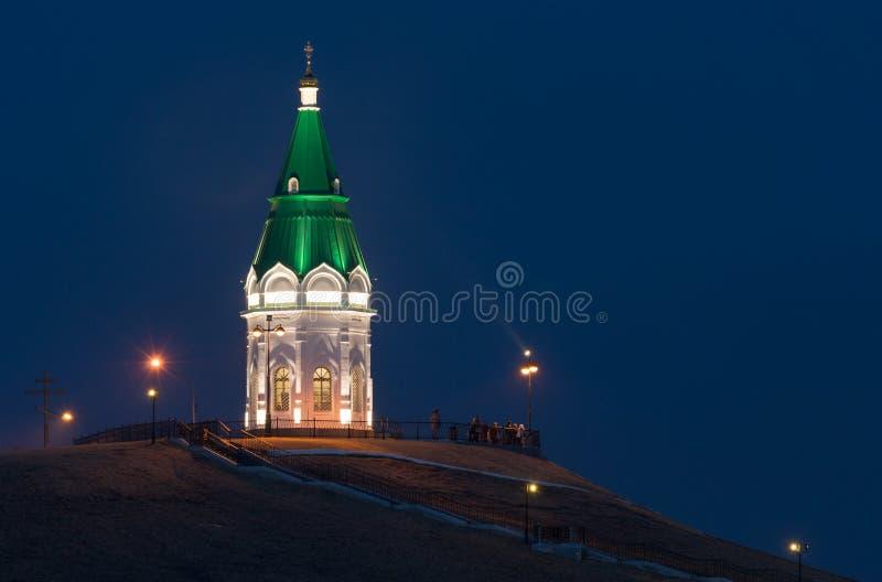 Paraskeva Pyatnitsa Chapel, Krasnoyarsk fotografía de archivo libre de regalías