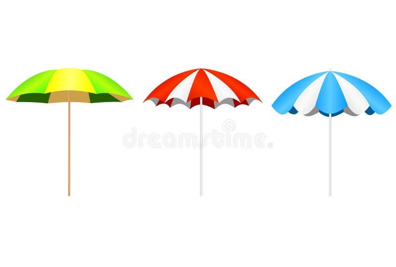 Parasol stock de ilustración