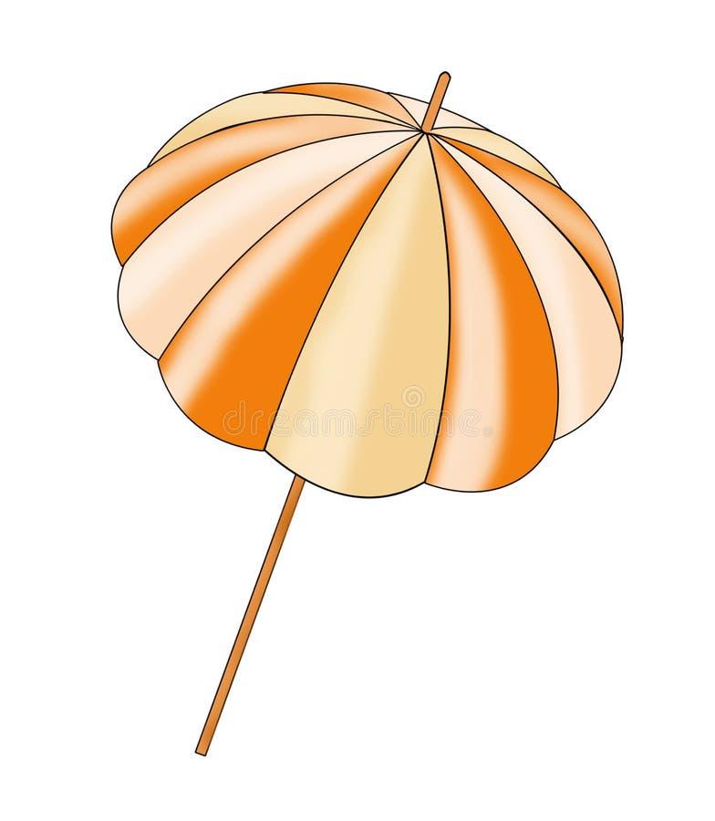 Parasol ilustración del vector