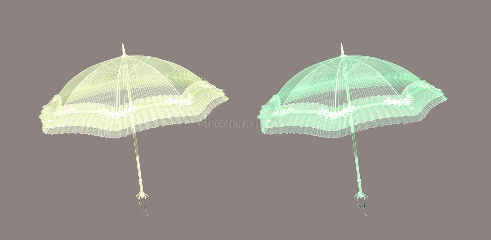 Parasol stock illustratie