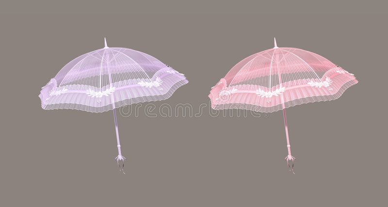 Parasol vector illustratie