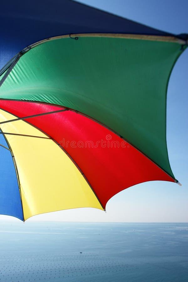 Download Parasol stock image. Image of bright, sunlight, orange - 7096983