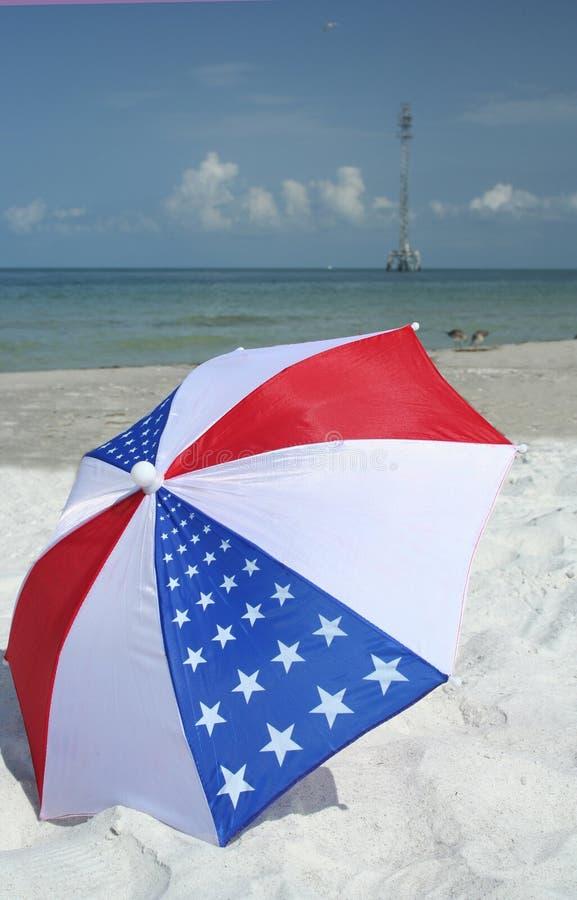 Parasol americano fotos de stock royalty free