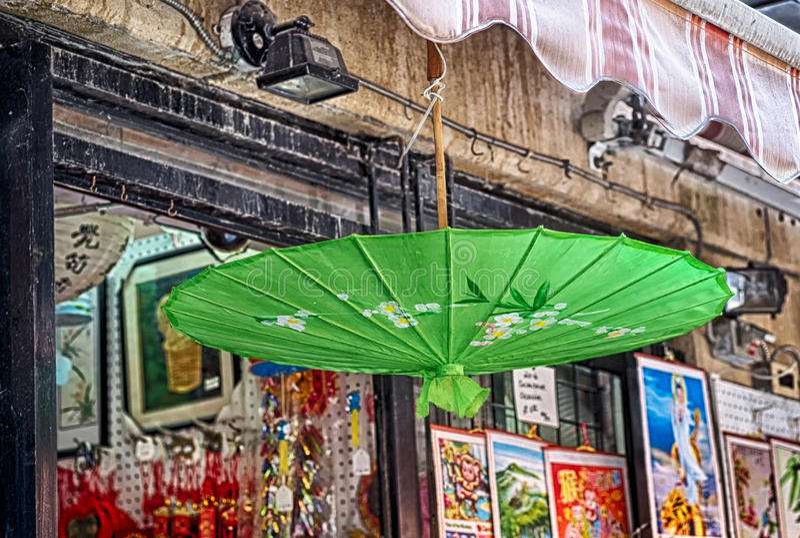 Parasol chinois photos stock