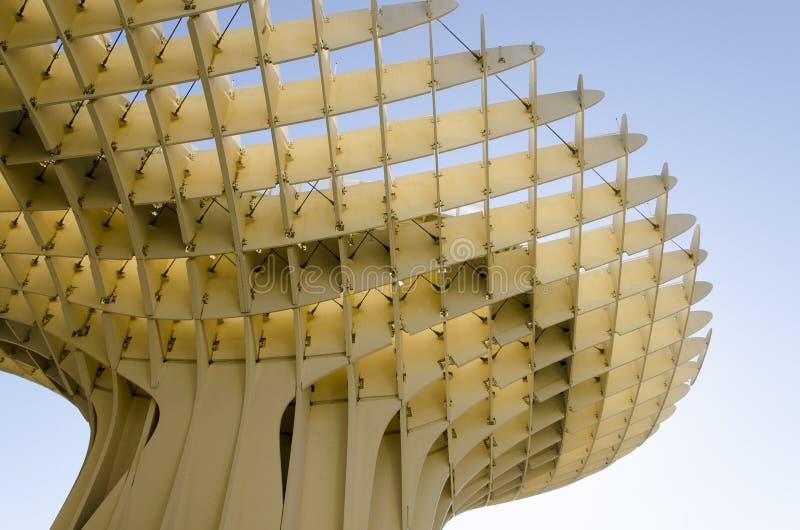 Parasol de Metropol de Sevilha foto de stock