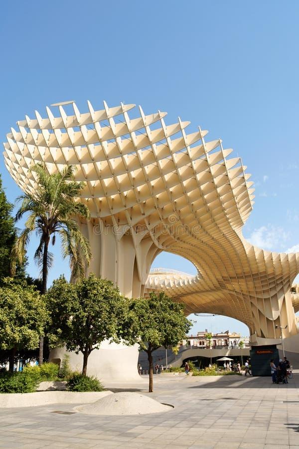 Parasol de Metropol en Séville, Espagne image stock