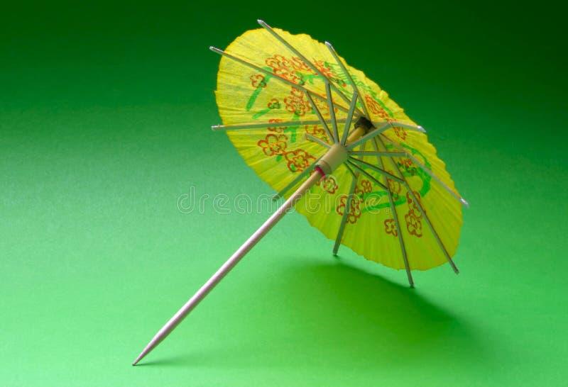parasol koktajlowym. zdjęcia stock