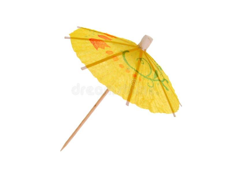 parasol koktajlowym. fotografia stock