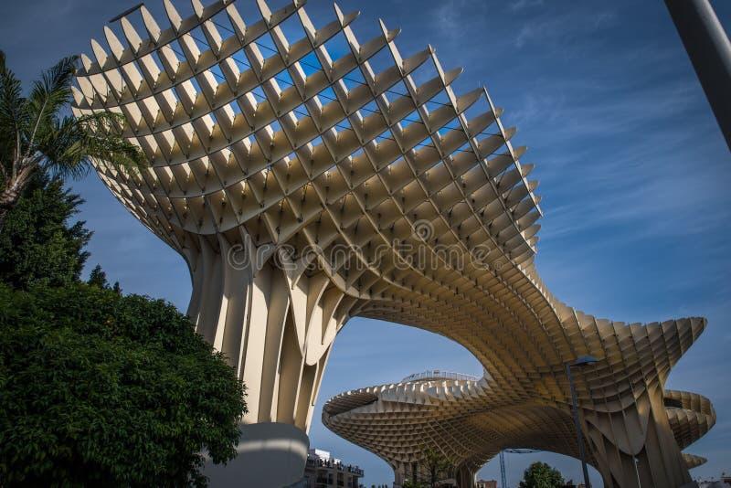 Parasol Séville Espagne de Metropol photographie stock libre de droits