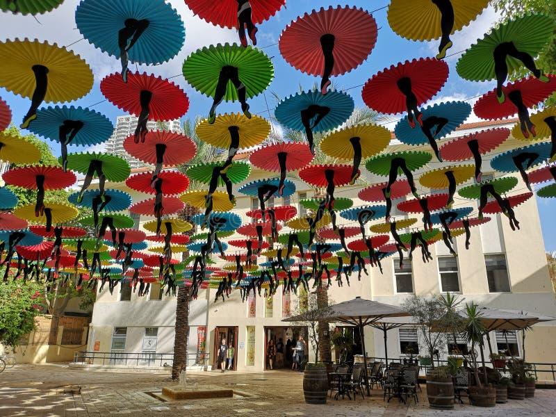 Parasolowy dach fotografia royalty free