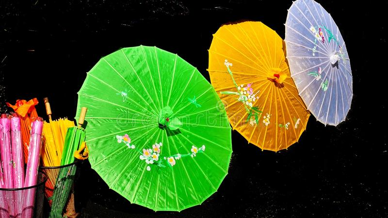 parasols images stock