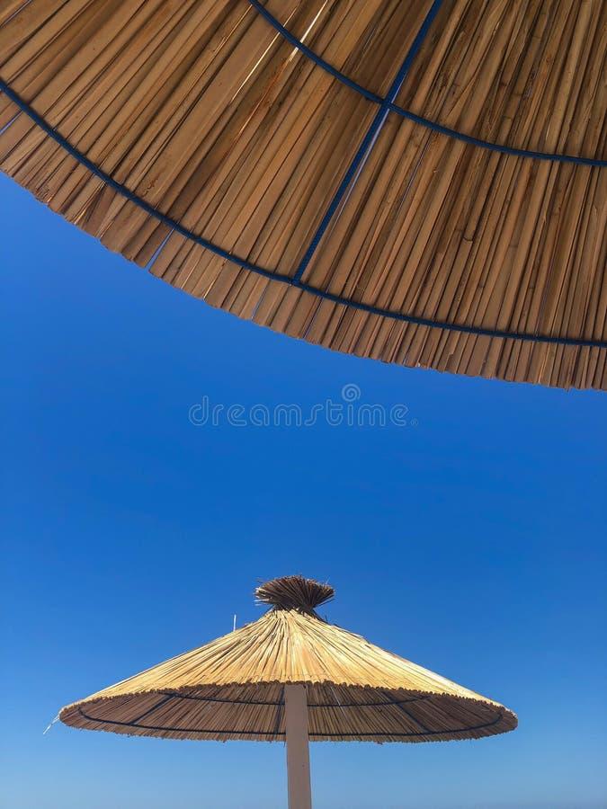 parasols photographie stock