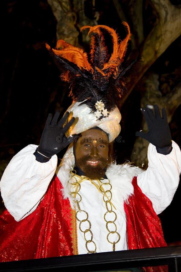 Parata biblica dei Magi in Spagna fotografie stock libere da diritti