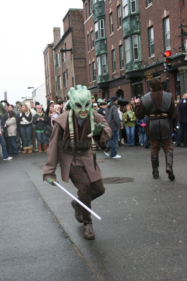 Parata Boston del sud, la massa 2008 di giorno della st Patrick immagine stock libera da diritti