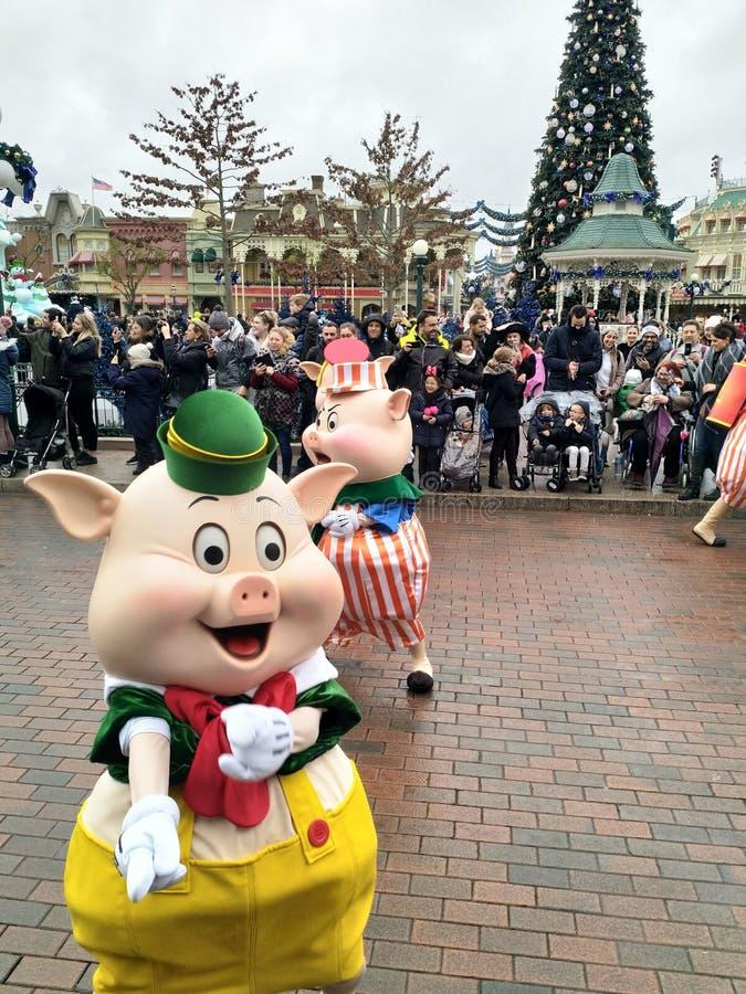 Parata del Disneyland Parigi immagine stock