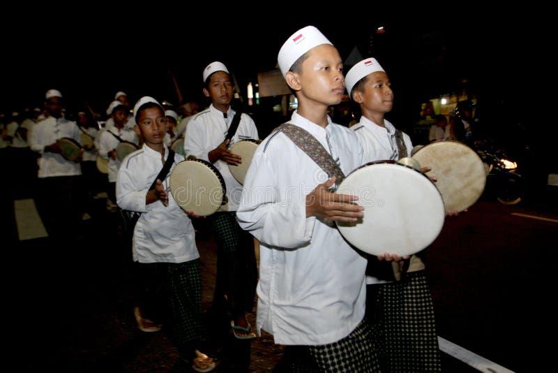 Parata del tamburino fotografia stock libera da diritti