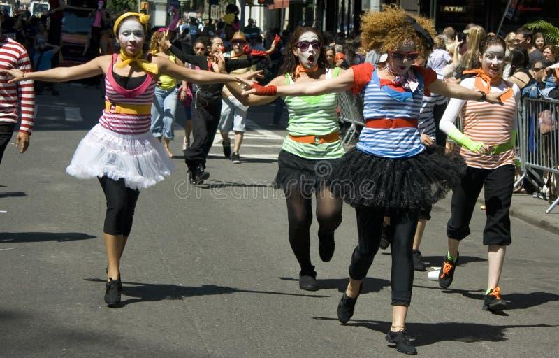 Parata di ballo di New York City immagine stock libera da diritti