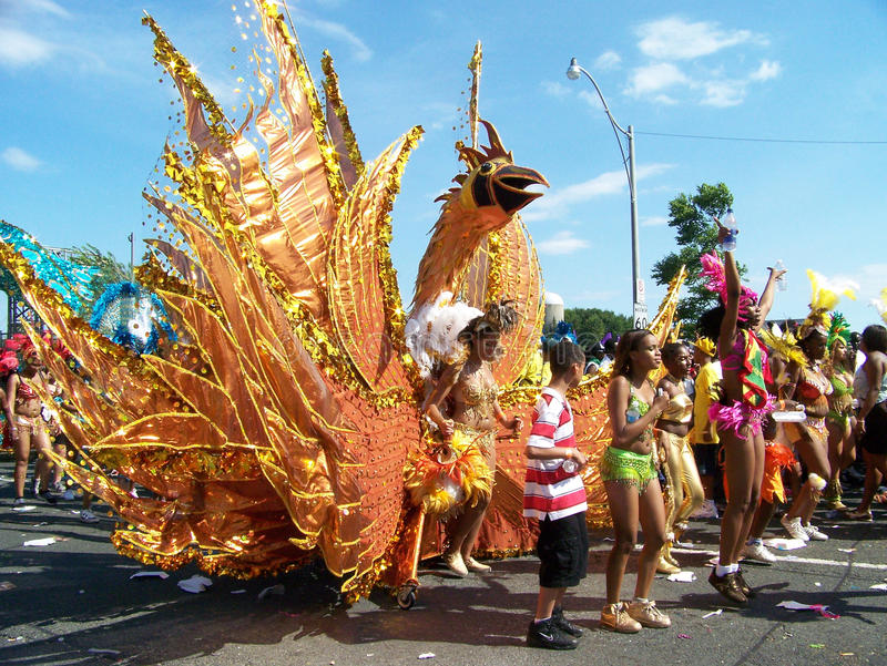Parata di Caribana a Toronto fotografie stock