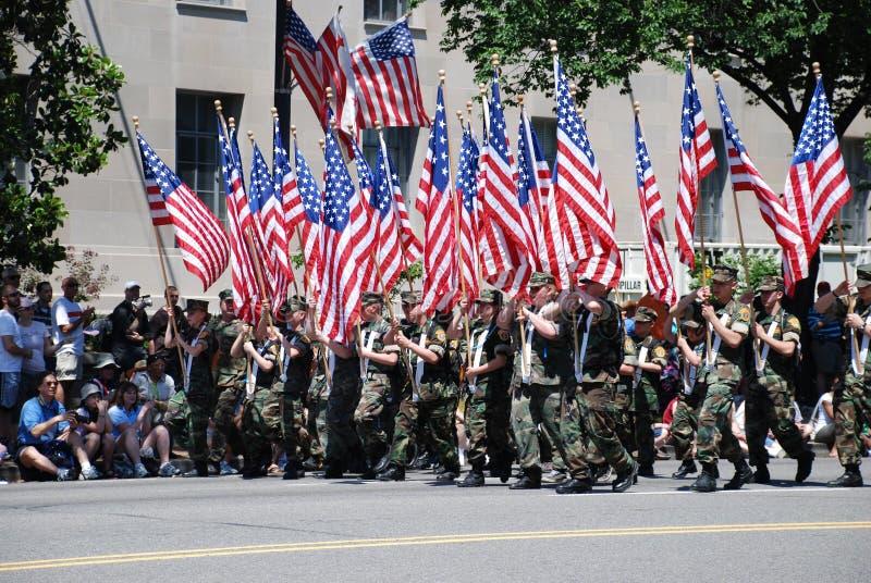 Parata di Giorno dei Caduti del cittadino 2008 immagine stock libera da diritti