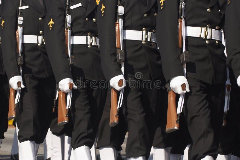 Parata di giorno della Repubblica, Nuova Delhi, India fotografia stock