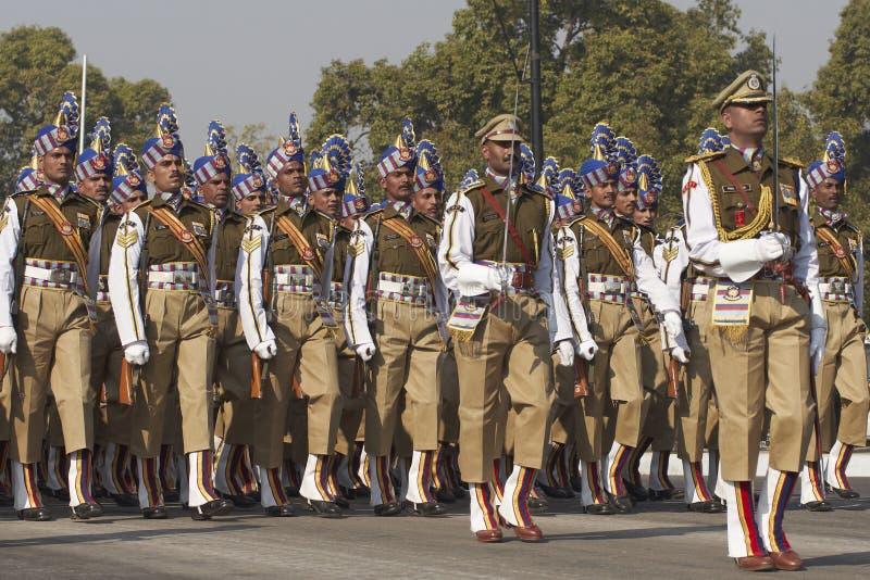 Parata di giorno della Repubblica, Nuova Delhi, India immagine stock