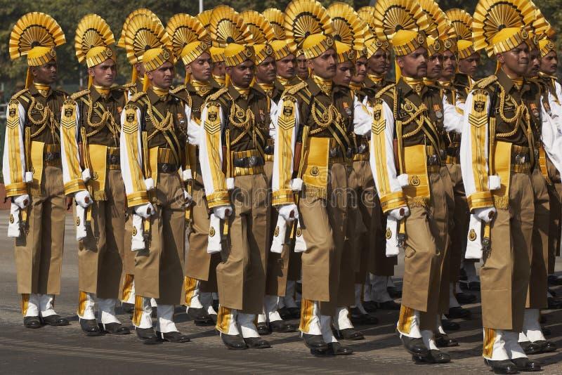 Parata di giorno della Repubblica, Nuova Delhi, India fotografie stock