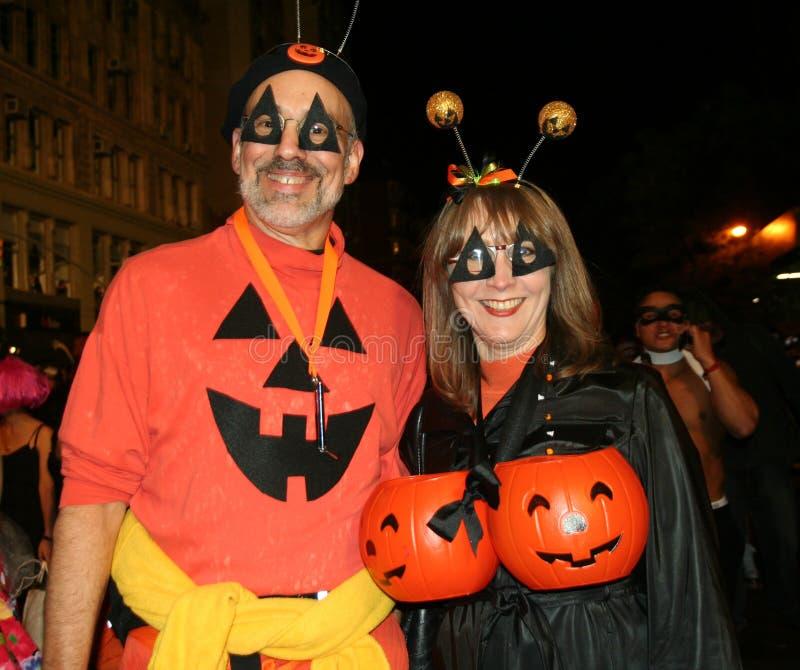 Parata di Halloween a New York City fotografie stock