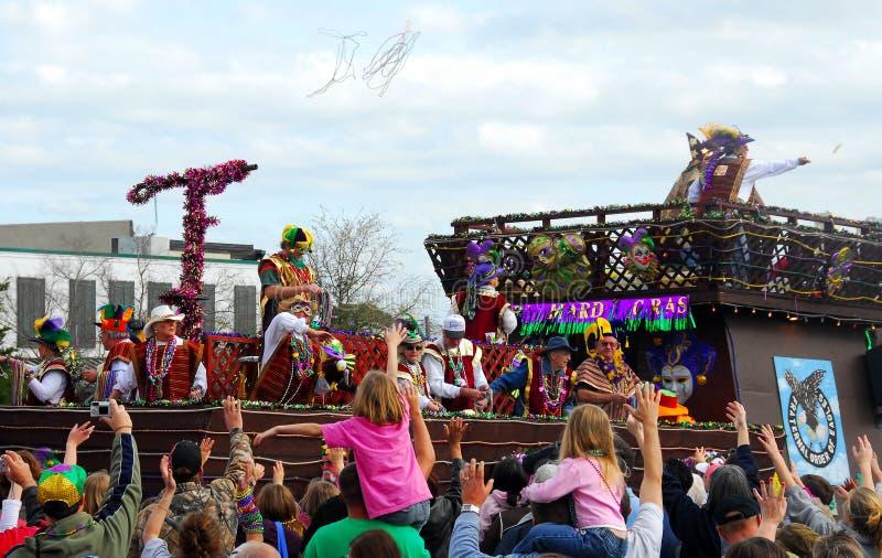 Parata di Mardi Gras immagini stock