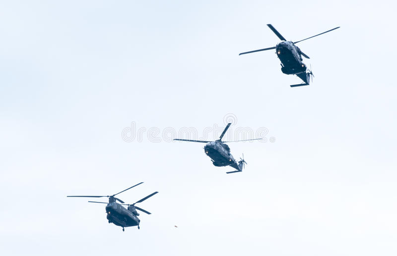 Parata di Ohi Day di tecnologia militare dell'aria a Salonicco fotografia stock