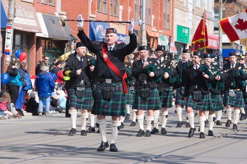 Parata di Pasqua a Toronto immagine stock libera da diritti