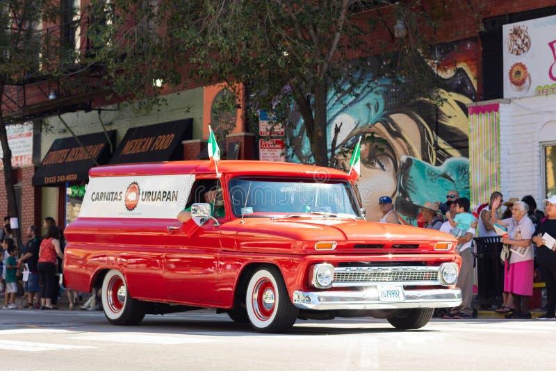 Parata messicana 2018 di festa dell'indipendenza di Pilsen fotografie stock
