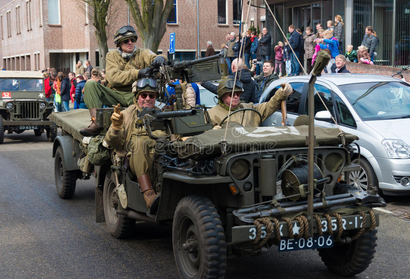 Parata militare di ricordo immagine stock libera da diritti