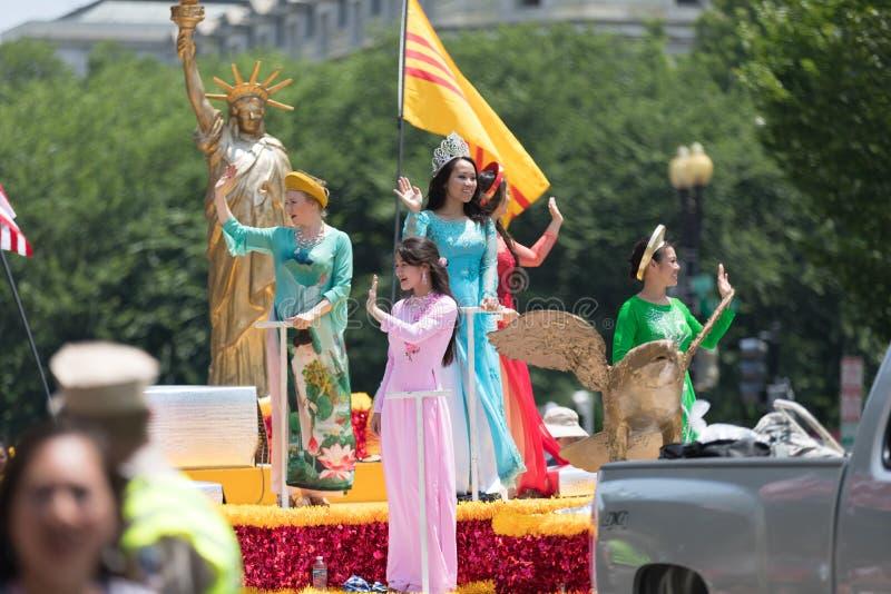 Parata nazionale 2018 di festa dell'indipendenza immagine stock