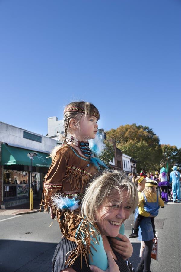 Parata in Warrenton, VA di Halloween Happyfest immagini stock