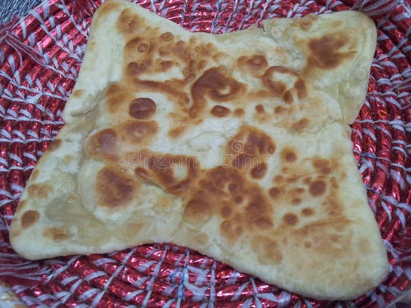 Paratha Wazeliniarski chleb słuzyć w changair zdjęcie royalty free