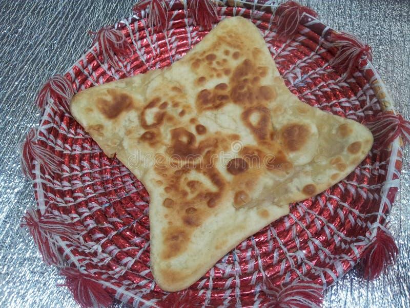 Paratha Wazeliniarski chleb słuzyć w changair zdjęcia royalty free